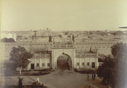 Entrance Gate to Courts and Offices, [Rampur]